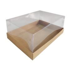Caixa para Ovo de Corte 500-750gr 22x15,5x9 Corpo PVC Com 10