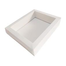 Caixa Moldura 18,5x15x4 BRANCO Tampa PVC om 10