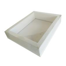 Caixa Moldura 22x17,5x4,5 BRANCO Tampa PVC Com 10