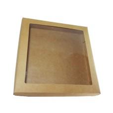 Caixa para Lembrancinha Visor Acetato 21x21x4 Com 10