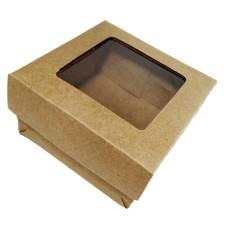 Caixa para Sabonete Visor Acetato 8x8x4 Com 10