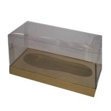 Caixa para Chuteira de Chocolate 21x9,6x11,5 KRAFT Corpo PVC Com 10