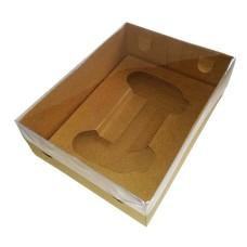 Caixa para Joystick Grande BWB 9814 KRAFT Tampa PVC 20x15x6 com 10
