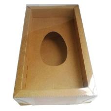 Caixa para Ovo de Colher 250gr Moldura 28,8x16,8x6,5 Com 10
