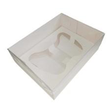 Caixa para Joystick BWB 9813 BRANCO Tampa PVC 20x15x6 Com 10