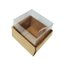 Caixa para 02 Macaron 5x4x4,5 com 10