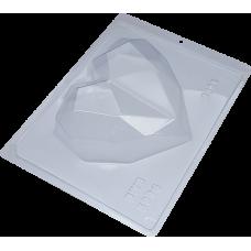 Forma BWB Coração Lapidado 500gr Ref.9838 com Silicone