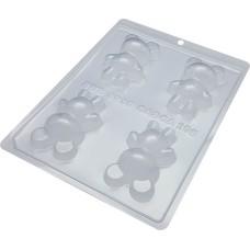 Forma BWB Urso Pequeno Ref.9935 Com Silicone