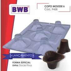 Forma BWB Copo Mousse 6 Especial com Silicone Ref.9458