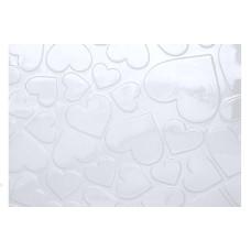 Placa de Textura Coração Grande Ref.9384 BWB