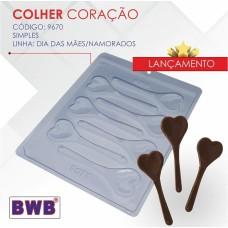 Forma BWB Colher Coração Ref.9670