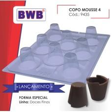 Forma BWB Copo Mousse 4 Especial com Silicone Ref.9435