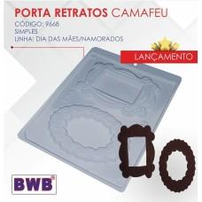 Forma BWB Porta Retrato Camafeu Ref.9668