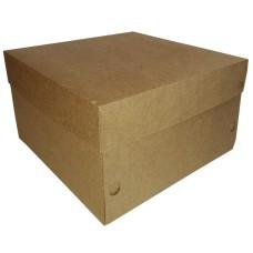 Caixa de Papel para Bolo 25x25x15 Com 50