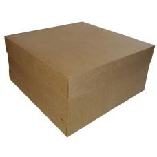 Caixa para Bolo Corpo e Tampa de Papel 30x30x15 Com 50