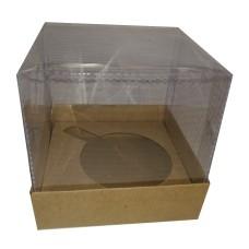 Caixa para Caneca 12x12x12 Com Berço Corpo PVC Com 10
