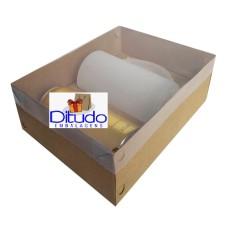 Caixa para Latão e Caneca de Chop 24x18,5x9 KRAFT Tampa PVC Com 10