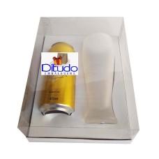 Caixa para Latão e Tulipa 24x18,5x9 BRANCO Corpo PVC Com 10