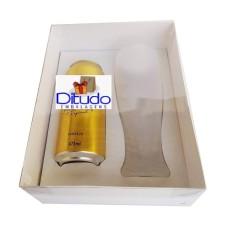 Caixa para Latão e Tulipa 24x18,5x9 BRANCO Tampa PVC Com 10