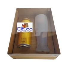 Caixa para Latão e Tulipa 24x18,5x9 KRAFT Tampa PVC Com 10