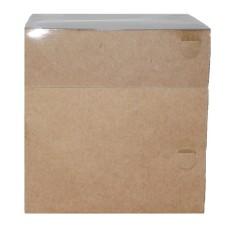Caixa Cubo 10x10x10 KRAFT Tampa PVC Com 10