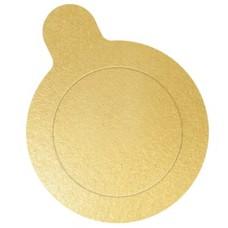 Base para Doce Redonda Ouro 3,5cm Ultrafest Com 50