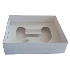 Caixa para Joystick 15x12x4 BWB 9661 BRANCO Tampa PVC Com 10