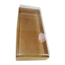 Caixa para 20 Macaron 21x9,5x4,5 KRAFT Corpo PVC com 10