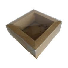 Caixa Moldura 11x11x4 KRAFT Tampa PVC Com 10