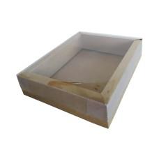 Caixa Moldura 18,5x15x4 KRAFT Tampa PVC om 10