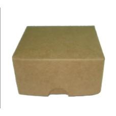 Caixa para Bem Casado 8x8x4 KRAFT Com 10