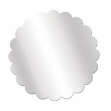 Tapetinho para Ovo de Colher 15cm Incolor Com 10 Cromus