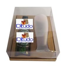 Caixa para Garrafa e Tulipa 24x18,5x9 KRAFT Corpo PVC Com 10