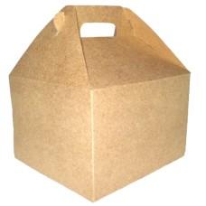 Caixa Maleta para Lanche 15x14x10 KRAFT Com 10