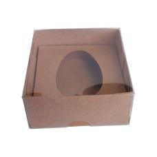 Caixa para Ovo de Colher 50gr 8x8x4 Com 10