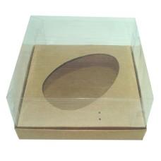 Caixa para Ovo de Colher 350g 17x17x9 KRAFT Corpo PVC Com 10