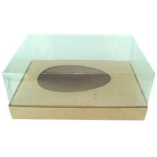 Caixa para Ovo de Colher 750gr 24x18,5x9 KRAFT Corpo PVC Com 10