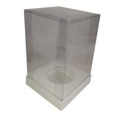 Caixa para Ovo de Páscoa 250gr 10X10X16,6 Corpo PVC Com 10