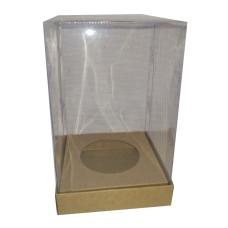 Caixa para Ovo de Páscoa 150gr 10X10X13 Corpo Acetato Com 10