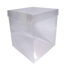 Caixa Panetone Chocotone 400gr Acetato 13,5x13,5x15 Com 10