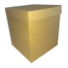 Caixa Panetone Chocotone 400gr 13,5x13,5x15 KRAFT Com 10