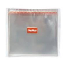 Saco Adesivado Transparente 20x20+3 Aba Com 100 Cromus