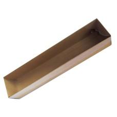 Caixa para Botão de Rosa 32X6X6 KRAFT Tampa PVC Com 10