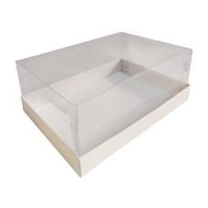 Caixa Para CORAÇÃO de Corte 2X200gr 20x15x6 BRANCO Corpo PVC Com 10