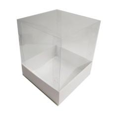 Caixa para Lembrancinha 6x6x6 BRANCO Corpo PVC Com 10