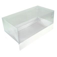 Caixa para Presentes 17x8,5x8 BRANCO Corpo PVC Com 10