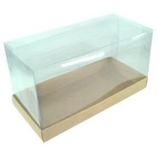 Caixa para Lembrancinha 21x9,6x11,5 KRAFT Corpo PVC Com 10