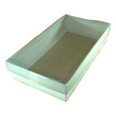 Caixa 27x15x5 BRANCO Tampa PVC Com 10