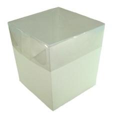 Caixa para Lembrancinha 6x6x6 BRANCO Tampa PVC Com 10