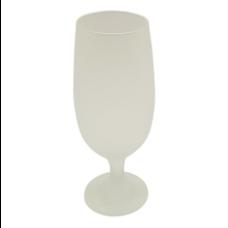 Taça Tulipa de Chopp Vidro Fosco para Sublimação
